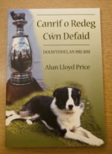 Sheep Dog Trials 2011 - Alun Price's book copy