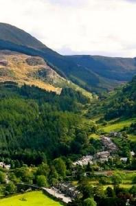 dolwyddelan-village